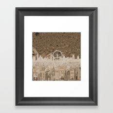 London skyline abstract 6 Framed Art Print