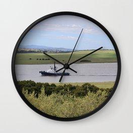 Tug -Tamar River -Tasmania* Wall Clock