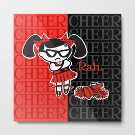 BAD GRACE: Big Cheer Metal Print