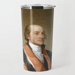 Chief Justice John Jay Portrait - By Gilbert Stuart Travel Mug