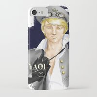 yaoi iPhone & iPod Cases featuring Yaoi by Noemí duVallon