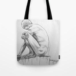 Withdrawn Tote Bag