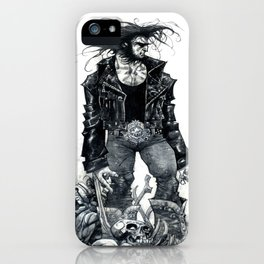Logan watercolor by Roger Cruz iPhone Case