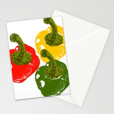 Capsicums Stationery Cards