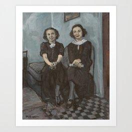 The Sisters Art Print