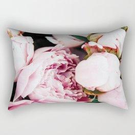 Blush Roses #floral #digitalart Rectangular Pillow