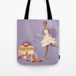 Blood Orange Millefeuille Tote Bag