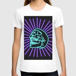 Blue Laughing Skull T-shirt