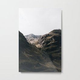 The Mountains III / Lost Valley Metal Print
