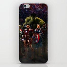 super hero iPhone Skin