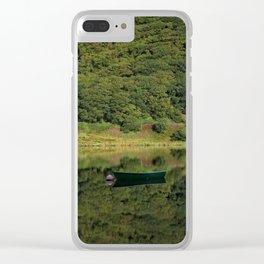 Llyn Mwyngil Reflection Clear iPhone Case