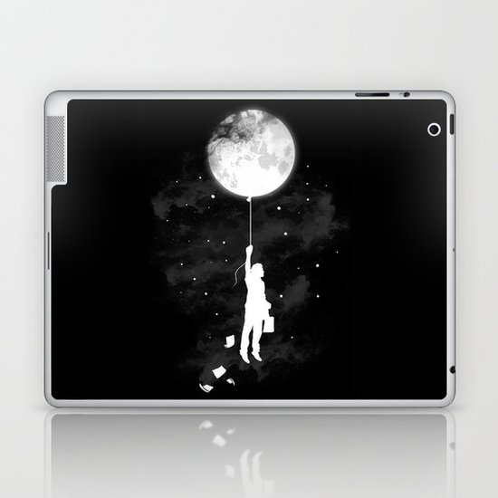 Midnight Traveler Laptop & iPad Skin