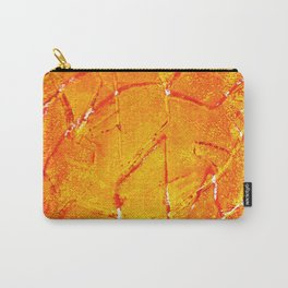 Vegetable Abstract Print Carry-All Pouch