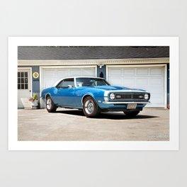 '68 Camaro Art Print