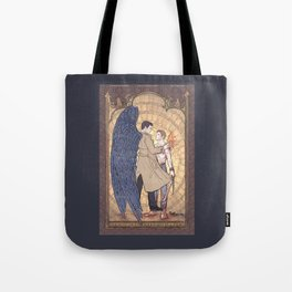Angelic Intervention (Dean Winchester is Saved) Tote Bag