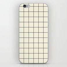 simple grid iPhone & iPod Skin
