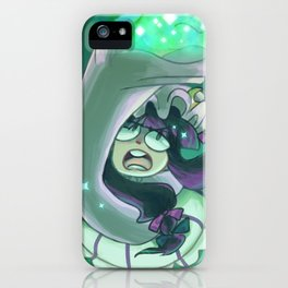 Emerald Megalith iPhone Case
