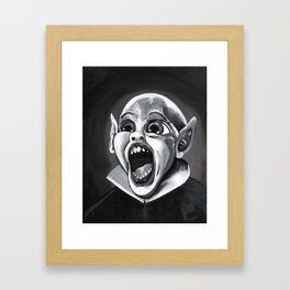 Bat Boy Framed Art Print