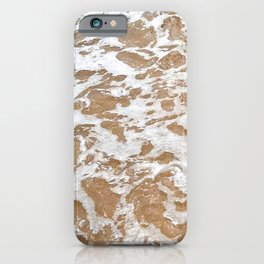 Soft Waves Over Sand iPhone Case