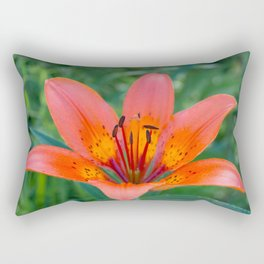 Lily Flower Rectangular Pillow