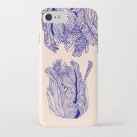 tulip iPhone & iPod Cases featuring Dark tulip by Annike