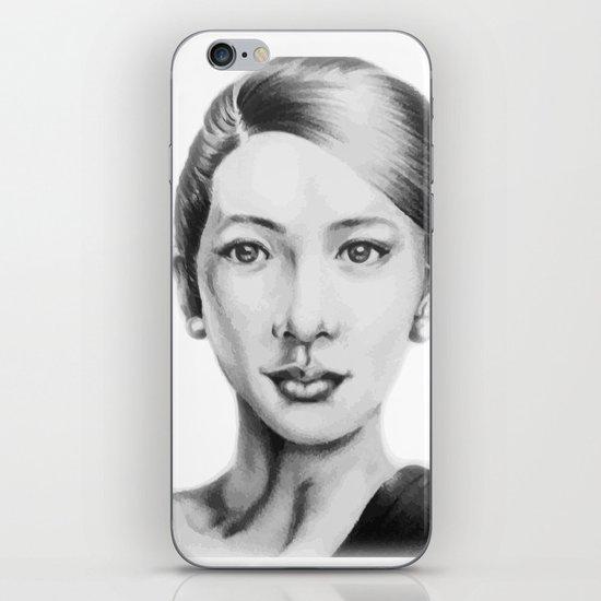 Asian beauty iPhone & iPod Skin