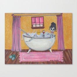 Senorita Sangria Canvas Print