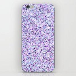 Purple Floral iPhone Skin