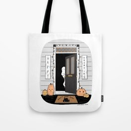 Haunted Home Tote Bag