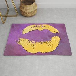 dp048-5 Watercolor kiss Rug