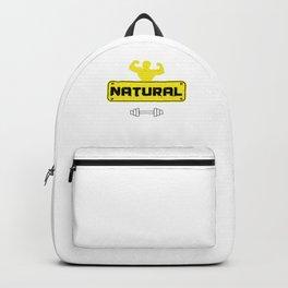 Natural Body Building Weightlifter Barbells Bodybuilder Gym Weightlifting Gift Backpack