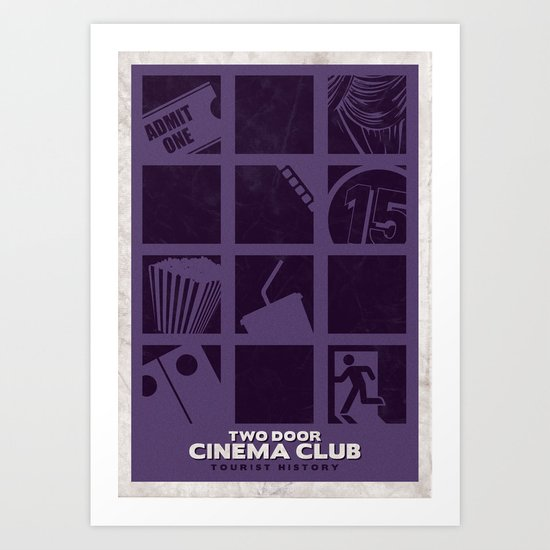 Two Door Cinema Club - Tourist History Art Print