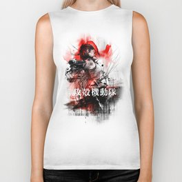Ghost in the Shell Biker Tank