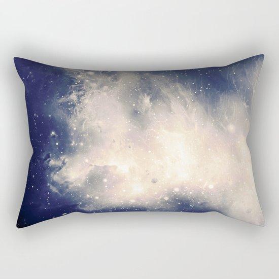 Milky Storm Rectangular Pillow