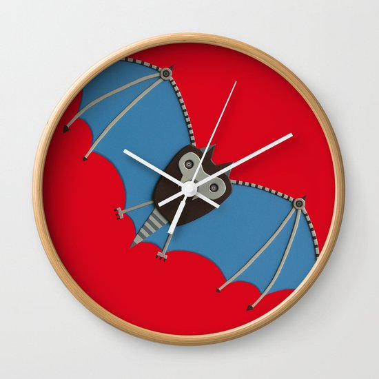 The bat! Wall Clock