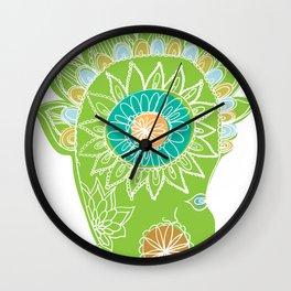 Head Wall Clock