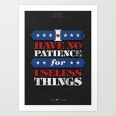 House of Cards - Chapter 1 Art Print