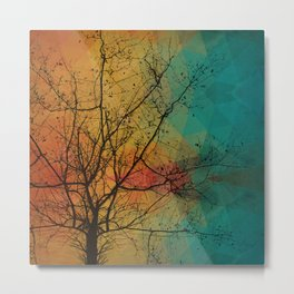 Tree with the knowledge of good & delightful Metal Print