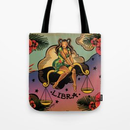 Tattoo Libra Tote Bag