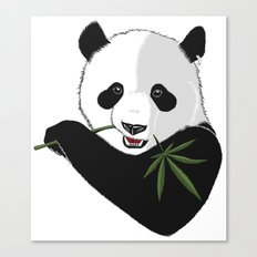 Save The Panda Canvas Print