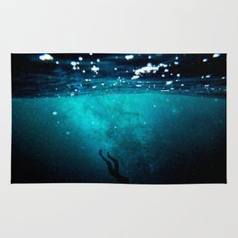 Drown myself Rug