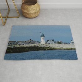 Scituate Lighthouse Rug