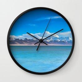 blue landscape #society6 #decor #buyart Wall Clock