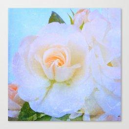Light Roses Canvas Print