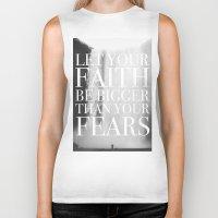 faith Biker Tanks featuring Faith by eARTh