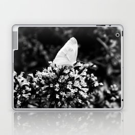 Black And White Butterfly Laptop & iPad Skin