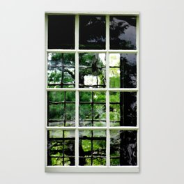 Square Windows Canvas Print