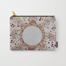 Autumn Flower Carry-All Pouch