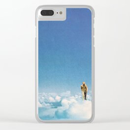 Dreams Never End Clear iPhone Case