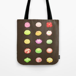 Wagashi set Tote Bag